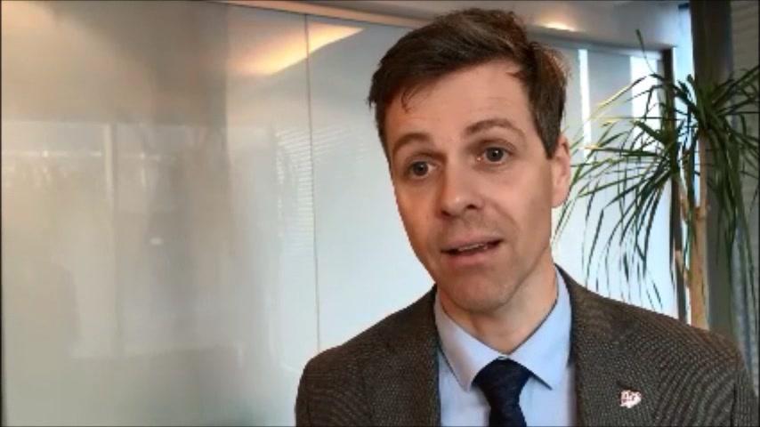 Intervju med Knut Arild Hareide på KrFs landsmøte