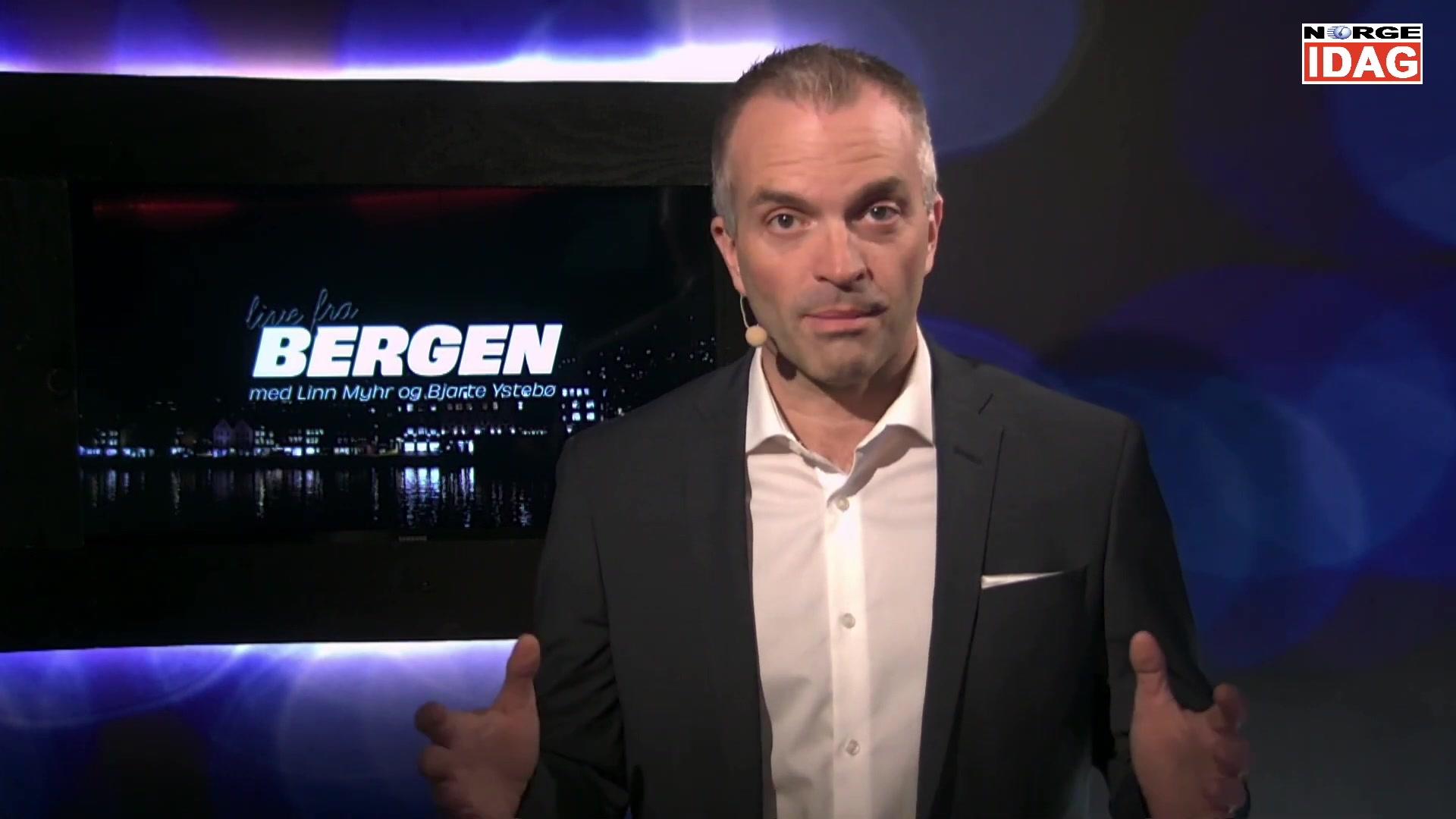 Live fra Bergen - Ep 4 - Politisk kommentar med Bjarte Ystebø